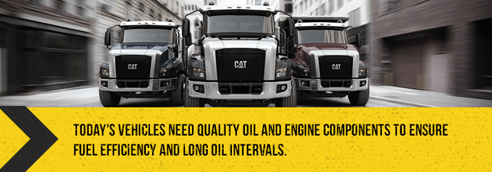 Vehicles need quality oil