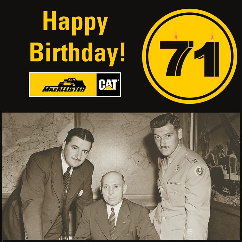 71st Anniversary