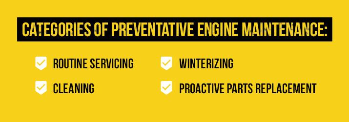engine preventative maintenance