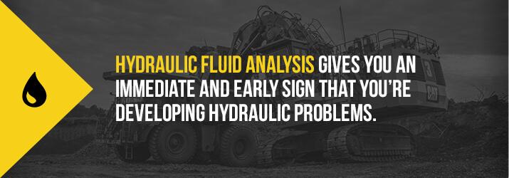 hydraulic fluid analysis