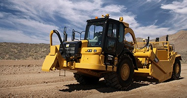 Wheel Tractor Scraper Rental | MacAllister Machinery