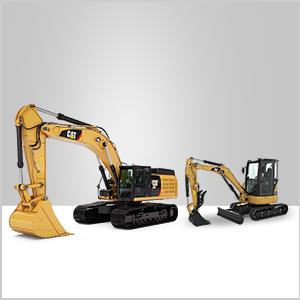 cat parts excavator