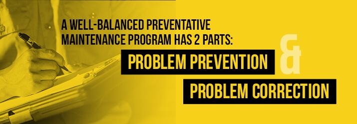 preventative maintenance plan