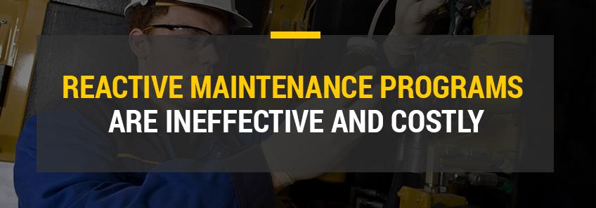 reactive maintenance