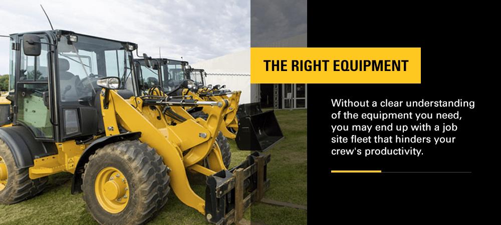 right equipment