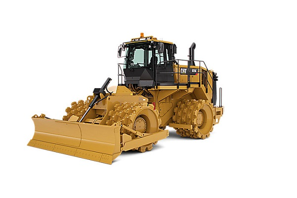 Cat large Compactor rental