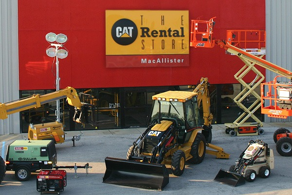 MacAllister Rentals Storefront