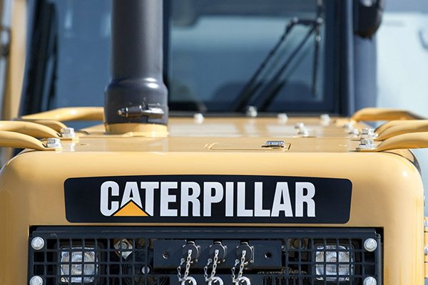 cat wheel loader logo