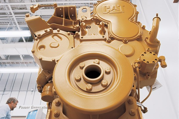 Cat new industrial engines