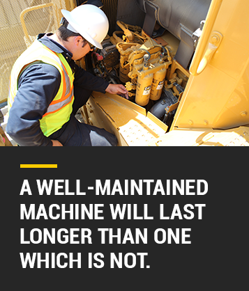 Well Maintained Machine