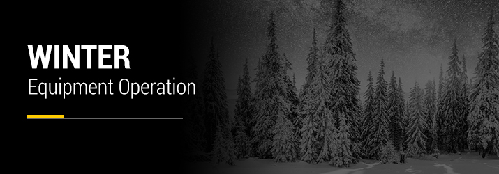 winter equipment operation